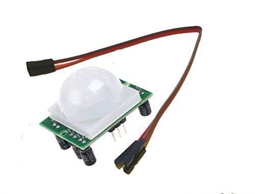 - PIR Motion Alarm Detection module for Raspberry Pi3 & Pi2, Model B+ or Arduino. Comes with 3 GPIO cables