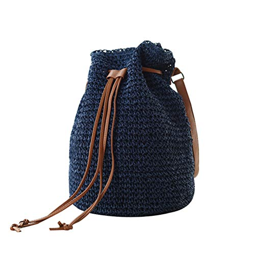 Crochet Drawstring Purse - 1