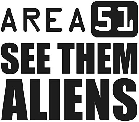 """OFFICIAL STORM AREA 51 VEHICLE UFO ALIEN ROSWELL Decal Car STICKER    4/"""" X 8 /"""""""