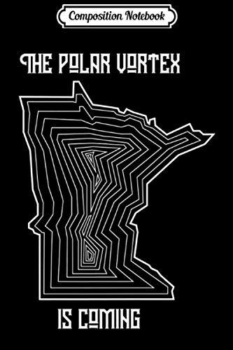 Composition Notebook: Geometric Minnesota Outline