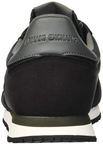 Black A Exchange Men X Armani Running Retro Black q1vZx8P1