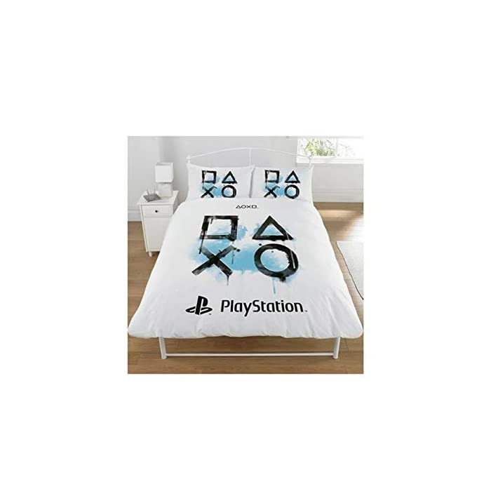41PSCIwnQML Producto oficial autorizado. Reversible. 52% poliéster, 48% algodón. funda nórdica playstation