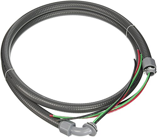 Southwire 55189407 55189401 Liquid Tight Flexible Whip, 1/2 In X 6 Ft, ()