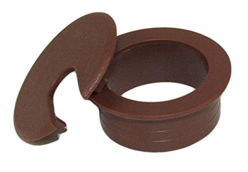 Brown Desk Grommet (MyCableMart 1 1/2