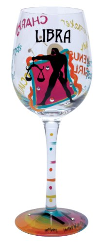 Lolita Love My Sign, Libra Wine Glass