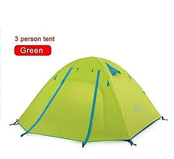 626b74919 HWZPHH Tent,Wigwam,Waterproof Fabric Double Layer 3 4 Person Ourdoor ...