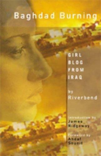 Baghdad Burning: Girl Blog from Iraq
