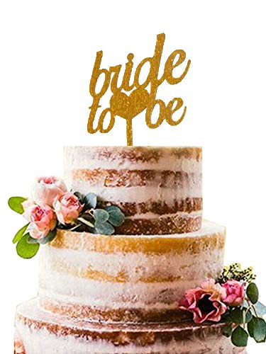 Bride to Be Acrylic Cake Topper - Bridal Shower ,Wedding ,Bachelorette Party Cake Topper Party Decoration