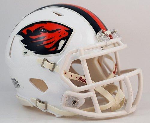 Oregon State Biber weiß Riddell Speed Mini Fußball Helm von Creative Sport