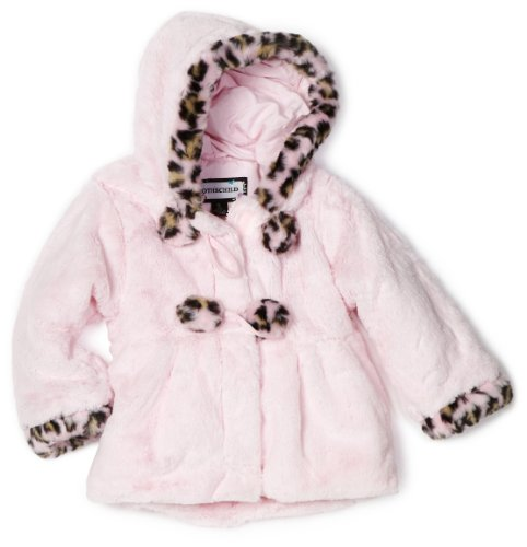 Rothschild Little Girls'  Faux Fur Teddy Jacket