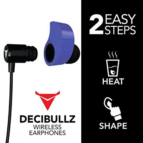 b1148b7b673 ... Decibullz - Custom-Fit Bluetooth Wireless Headphones, The First Custom  Molded Wireless/Bluetooth ...