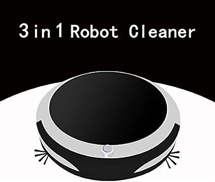 Robot Fregasuelos Robot Aspirador Potente Robot Aspirador con Limpieza Sistemtica para El Pelo De Mascotas: Amazon.es: Hogar