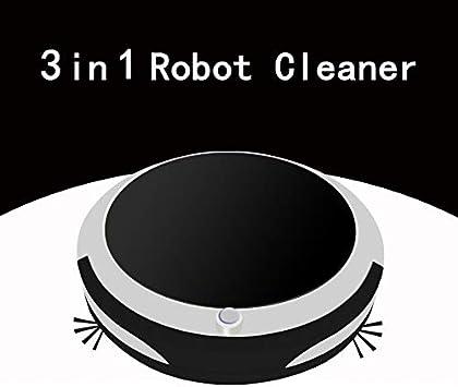 Robot Fregasuelos Robot Aspirador Potente Robot Aspirador con Limpieza Sistemtica para El Pelo De Mascotas