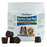 Revival Animal Health Skin & Coat Chews - Doc Roy's 120 ct. Derma Coat Plus for Small Dogs