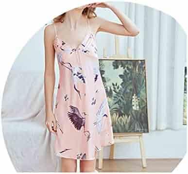 oggitt Yukata Pajamas Japanese Sleep Wear Cotton Loose Flamingo Stripe