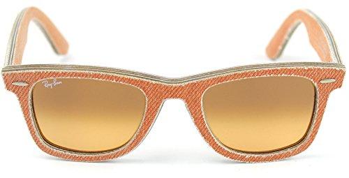 Ray-Ban RB2140 11653C Wayfarer Sunglasses Orange Jeans Frame / Orange Gradient Lens 50mm