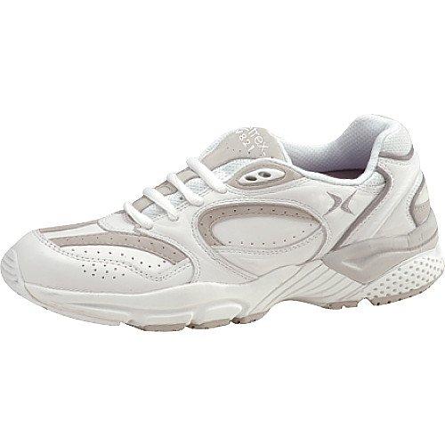 Aetrex Women's X821 Lenex Walker Walking Shoes,White,4.5 M