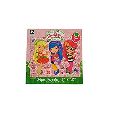 Karmin International Set of 6 Strawberry Shortcake 24 Piece Puzzles (10