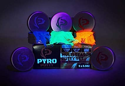 Tear Separate for One Use /& Avoids The Sticky Mess Ignite Phone Skope PYRO Putty Fire Starter Single Use 20 or 50 ct Foil Packs