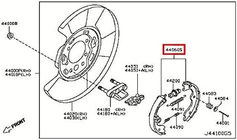 Amazon.com: Infiniti D4060-JN00A, Parking Brake Shoe: AutomotiveAmazon.com