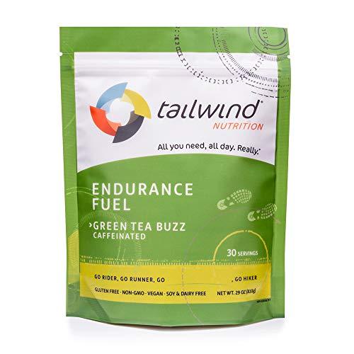Tailwind Nutrition Caffeinated Endurance Fuel Green Tea Buzz 30 Serving ()
