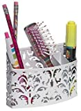 Amazon Price History for:Style It! Magnetic Storage Bin - White Scroll