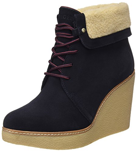 Hilfiger B12385randy Blue Boots 1bw Midnight Tommy Women's dT6xqdE