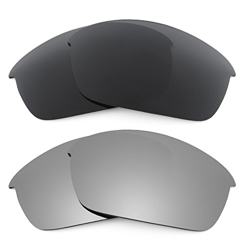 Revant Replacement Lenses for Oakley Flak Jacket 2 Pair Combo Pack K001
