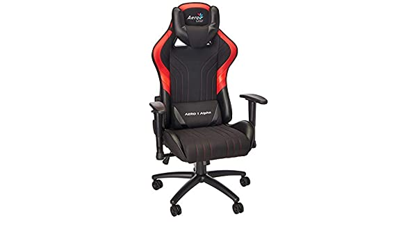 Amazon.com: AEROCOOL ACGC-2017101 Gaming Chair AERO 1 Alpha ...