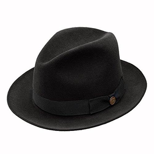 Stetson TFRUNP-0120 Runabout Pro Hat, Black - 7 1/4 by Stetson (Image #1)