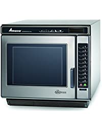 Amana Commercial RC30S2 Amana RC Chef Line Commercial Microwave Oven, 3000W, Stainless Steel