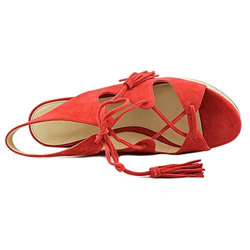 Ivanka Trump Zenia Kvinners Sandaler Og Flip Flops Medium Rød