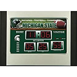 Michigan State Alarm Clock Desk Scoreboard