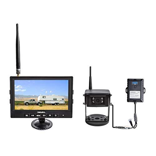 Haloview MC7108 Kit Wiring-Free Wireless High Definition Rear View Camera System (Portable Kit)