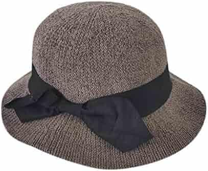 06a7e9b45c2cbe Foldable Straw Beach Hat Women's hat Folding Sun hat Fisherman hat Floppy  Sun Hats Wide Brim