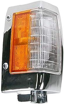 w//Chrome Trim NISSAN PICKUP 90-97 CORNER LAMP RH NI2551107 Make Auto Parts Manufacturing Assembly