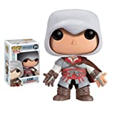 'Funko POP Games Assassin's Creed Ezio Action Figure' from the web at 'https://images-na.ssl-images-amazon.com/images/I/41PSMDZi-ML._SL160_.jpg'