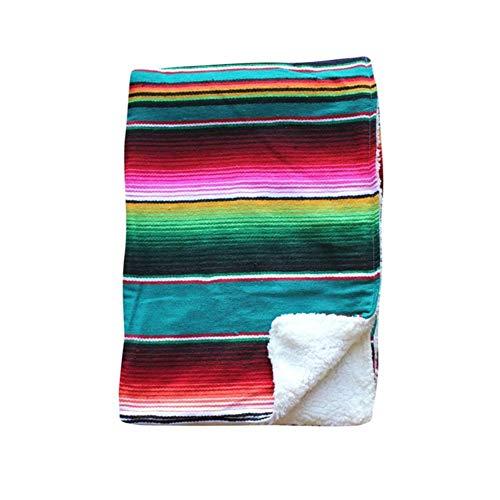 Mexican Rainbow Blanket BabySoft
