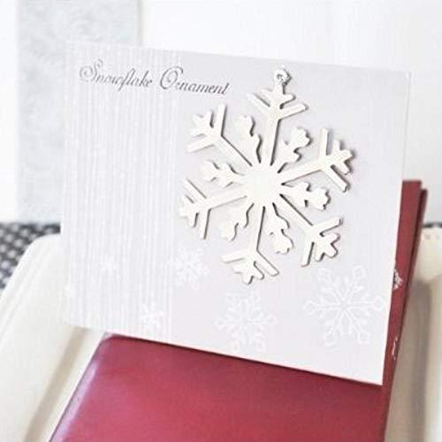 Silver Snowflake Ornament (set of 30)]()