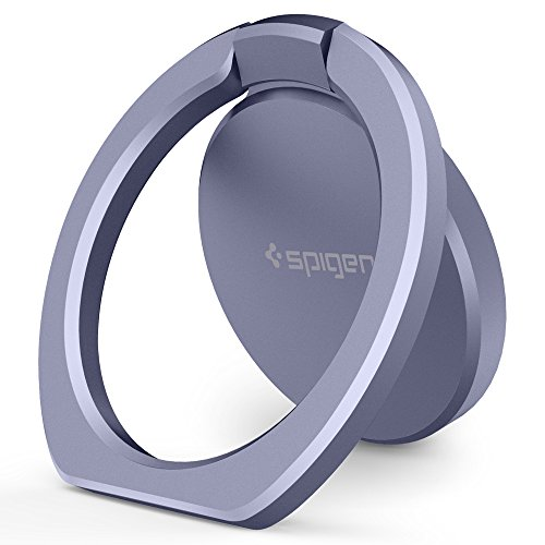 Spigen Style Ring POP Cell Phone Ring/Phone Grip/Stand/Holder for All Phones and Tablets Compatible with Magnetic Car Mount - Orchid Gray