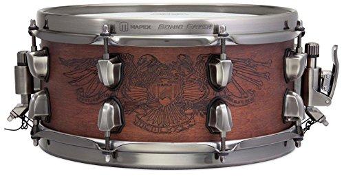 Mapex Black Panther Artist Series Snare Drum - Chris Adler - Adler Steel