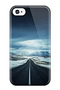 Best 5656084K55022384 Iphone Case - Tpu Case Protective For Iphone 4/4s- Road