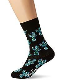 Happy Socks Cactus Mens Socks Black