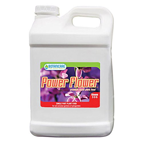 2.5 gal. - Power Flower - Bloom Stimulator - Hydroponic Nutrient Solution - 2-2-5 NPK Ratio - Botanicare 718335 by Botanicare (Image #1)