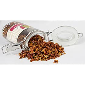 Red Bell Pepper Flakes : Pure Natural Dried Seasoning Spice : Kosher Certified