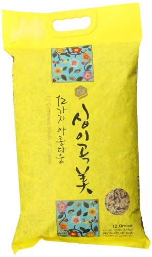 Sempio Gen Ji Mai 12 Grain Whole Grain Brown Rice, 10 Pound by Sempio
