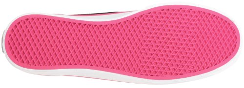 Vans Devan VL9864D Damen Klassische Sneakers Schwarz ((Color Stitch) black/pink)
