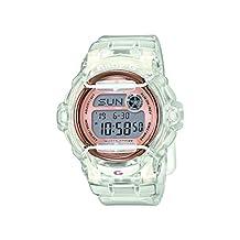 Casio Baby-G Ladies Clear/Gold LCD Digital Watch - BG-169G-7BER