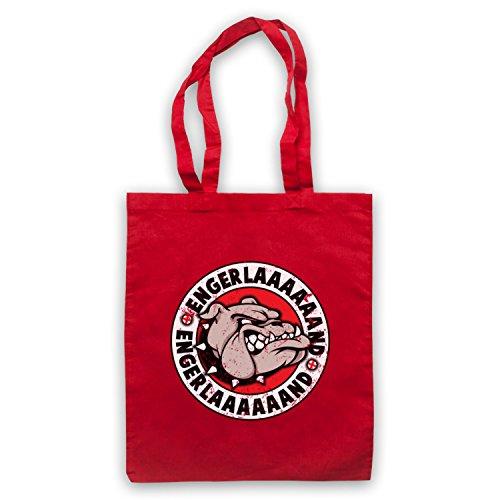 Engerlaaaaaand England Art Sac English amp; My Bulldog Icon Rouge Clothing Parody d'emballage wBYxa5f8q