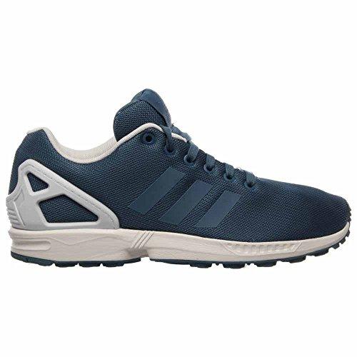Zx Flux Mens À St. Stonewash Blue Par Adidas St. Stonewash Bleu